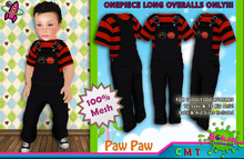[SKTD] Toddleedoo Paw Paw Full Mesh Overalls LONG
