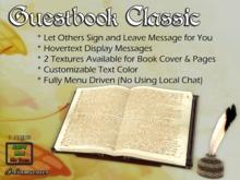 Dr3amweaver Guest Book Classic