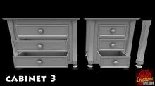 Cabinet 3 FULL PERM MESH