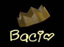 Bacio Mesh crown