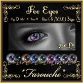 """""""Farouche""""Fee Eyes"""