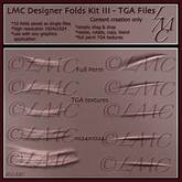 LMC Full perm TGA textures - Folds Kit III