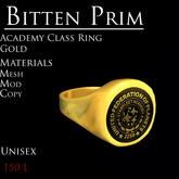 *BP* Academy Class Ring in Gold