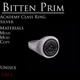 *BP* Academy Class Ring in Silver