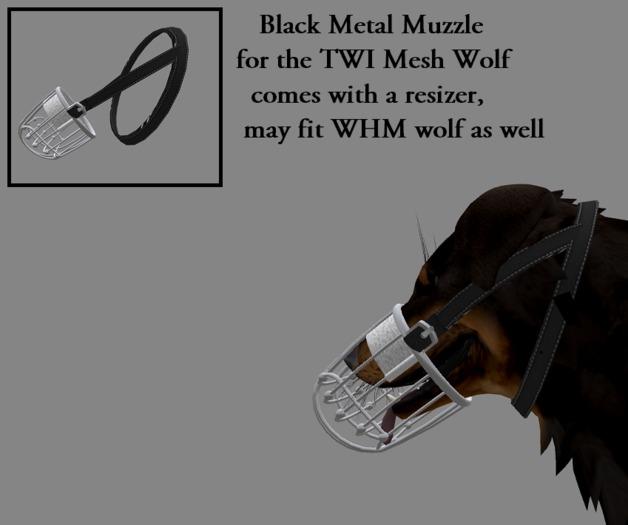 Black Metal muzzle
