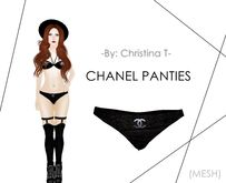 -by: Christina T- Chanel Panties