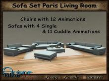 Sofa Set Living Room Paris * Special Price New Short Time Promo *