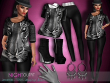 PROMO - Bens Boutique - Mesh Night Outfit