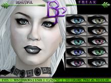 Beautiful Freak : Winterborn Eyes - original series All Colors fatpack