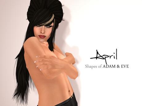 Shapes of ADAM & EVE - April shape.