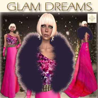 """* 50% OFF !!! - Glam Dreams """" Pink Opulence """""""