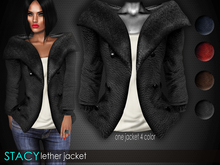 Bens Boutique - Stacy Leather Jacket