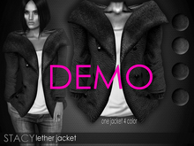 Bens Boutique - Stacy Leather Jacket DEMO
