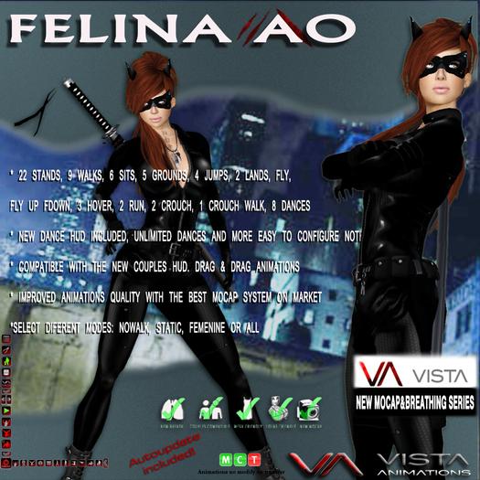 VISTA ANIMATIONS-FELINA AO-