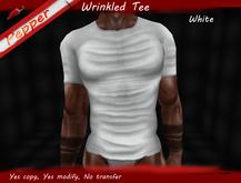 ~Pepper~Wrinkled Tee *White*