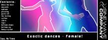Exotic Dances for Female