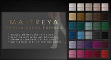 Maitreya Dahlia Socks * Fatpack