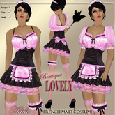 **Lovely** ADELE - French Maid Costume Pink (MOD/COPY)
