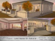 ::JP Design:: Land Home 01 - Natural 32x32.75