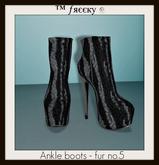Ankle boots - fur no.5