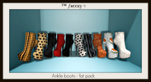 Ankle boots - FAT PACK