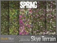Skye Terrain Textures - Spring 70 x 2 Full Perms Spring Terrain Textures