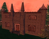 Unfurnished Castle (inc Fireplace & Wall Torches) Vampire Home?