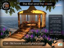 CM - Tiki house beach place patio