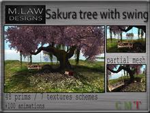 Sakura Romantic Tree & Swing Box
