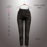 ~SV~ Black Ankle Length