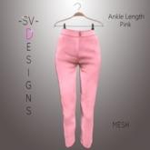 ~SV~ Pink Ankle Length