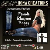 ~* RoNa Creations *~ BLUEJEAN MESH BAGGY