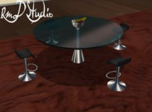 Stool table glass furniture ( Promotional launch ) LIMITED PROMO