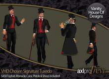 VHD Chosen Signature Tuxedo