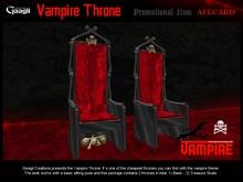 Gaagii - Vampire Throne (BOXED) V1