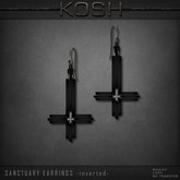 KOSH- SANCTUARY EARRINGS -inverted-
