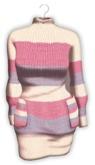 +HONEY+M005*Mesh Knit sweater(P/P)