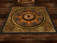 Whimsical Steampunk Rug