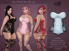 *MUKA* Blossom Blue (Omega)