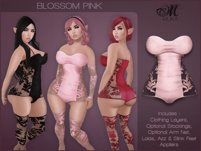 *MUKA* Blossom Pink (Omega)