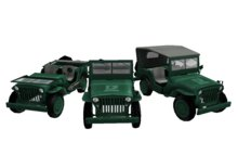*living world* Army jeep ( (NOW PRICE DOWN ))