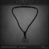 KOSH- COPECK NECKLACE -antique-