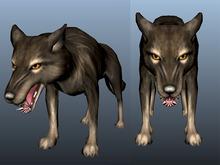 Wolf - Mesh - Full Perm