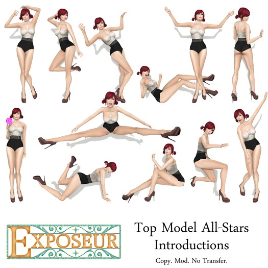 {.:exposeur:.} Top Model -All-Stars: Intros