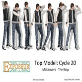 {.:exposeur:.} TM Cycle 20 - Makeover Boys