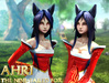 Ahri - Neko - Inspired by Legends - Mesh Avatar!