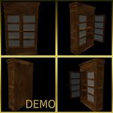 Glass Cabinet. Demo.