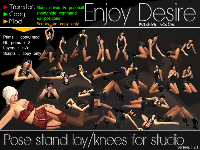 Pose Stand for Studio - Lay/Knee
