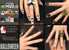 Action Nails Halloween
