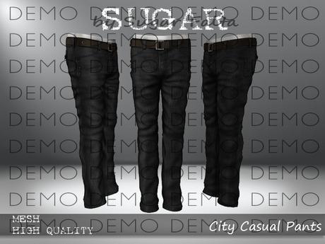 SUGAR for Men - City Casual Pants - DEMO